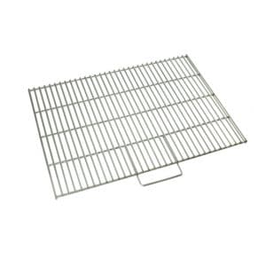 """Stainless steel steak grill 18""""x 25"""" for outdoor fireplace"""